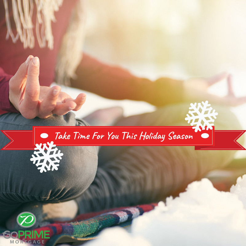 Take Time For You This Holiday Season