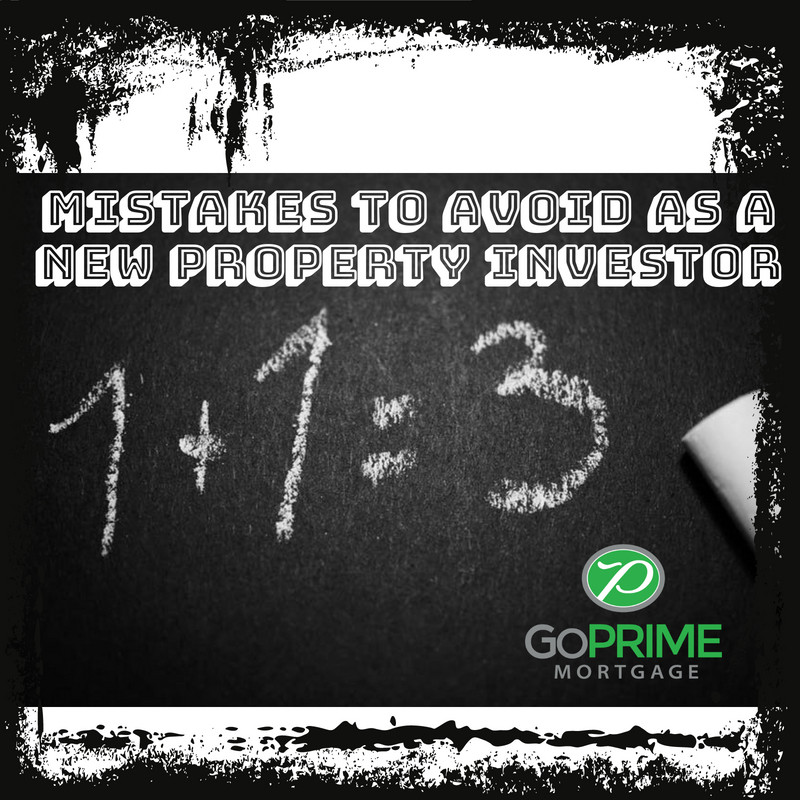 Mistakes to Avoid as a New Property Investor