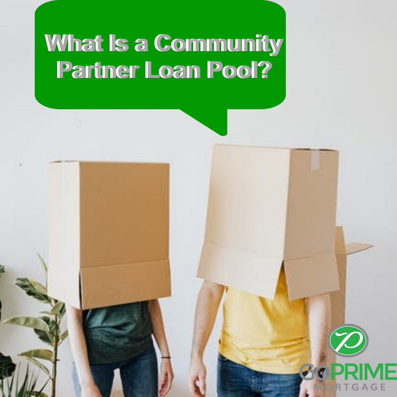 What is a community partner loan pool