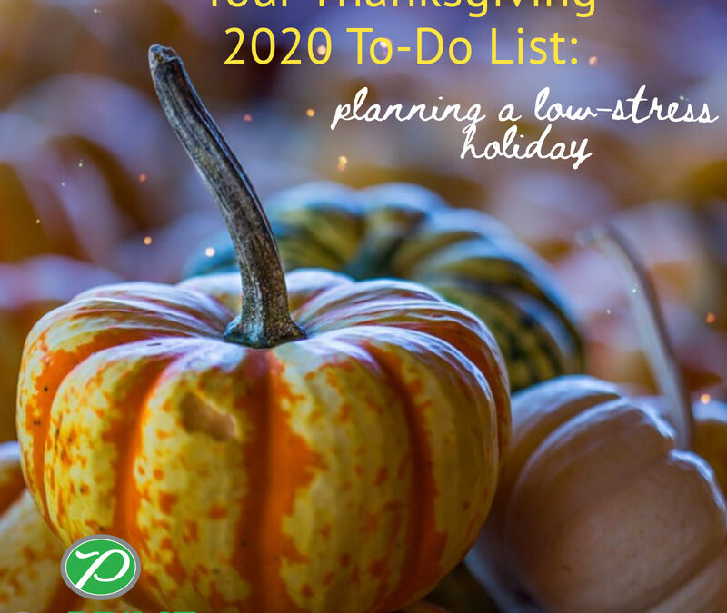 Your Thanksgiving 2020 To-Do List