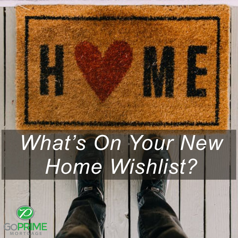 Whats On Your New Home Wishlist