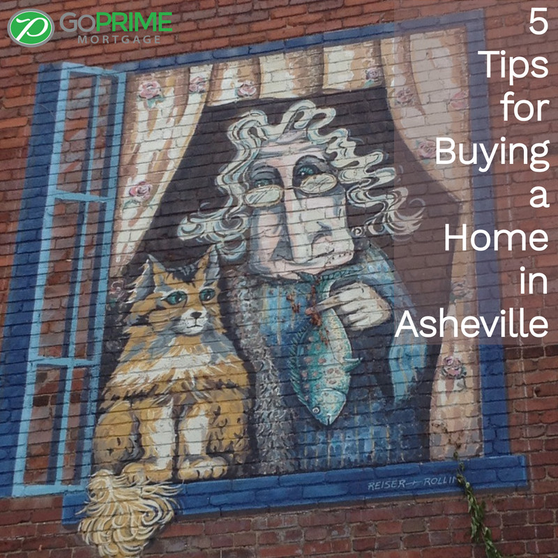 5 Tips for Buying a Home in Asheville