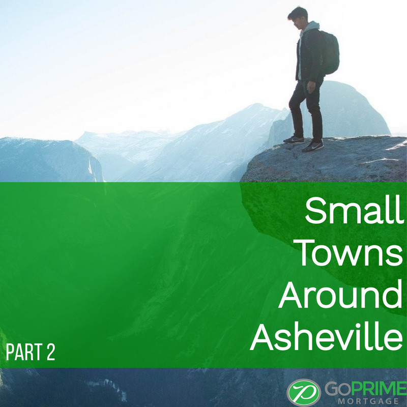 Small Towns Around Asheville