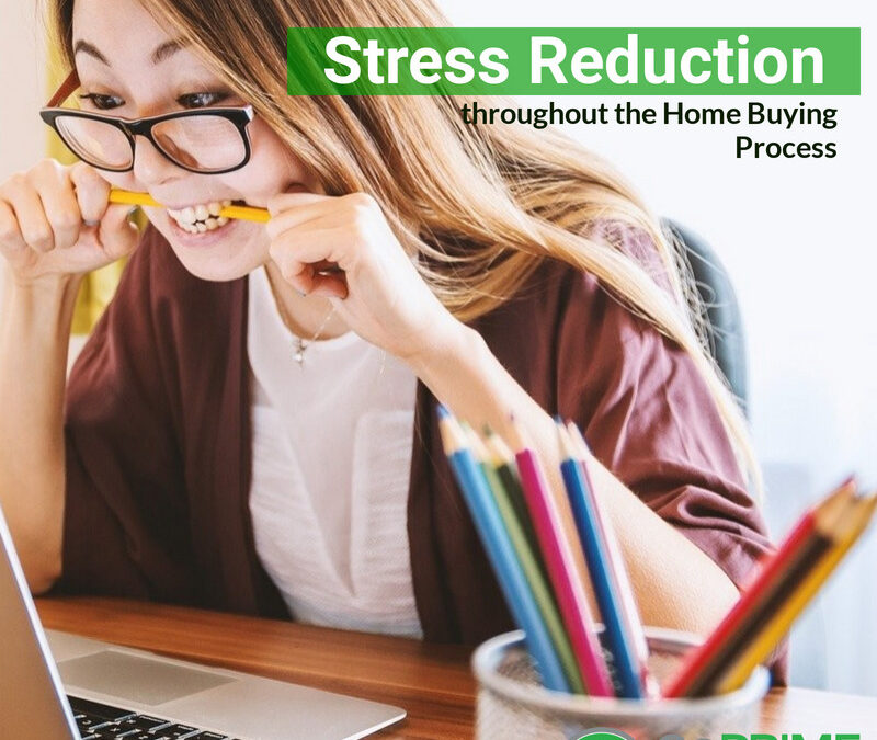 Stress Reduction Tips when buying a home