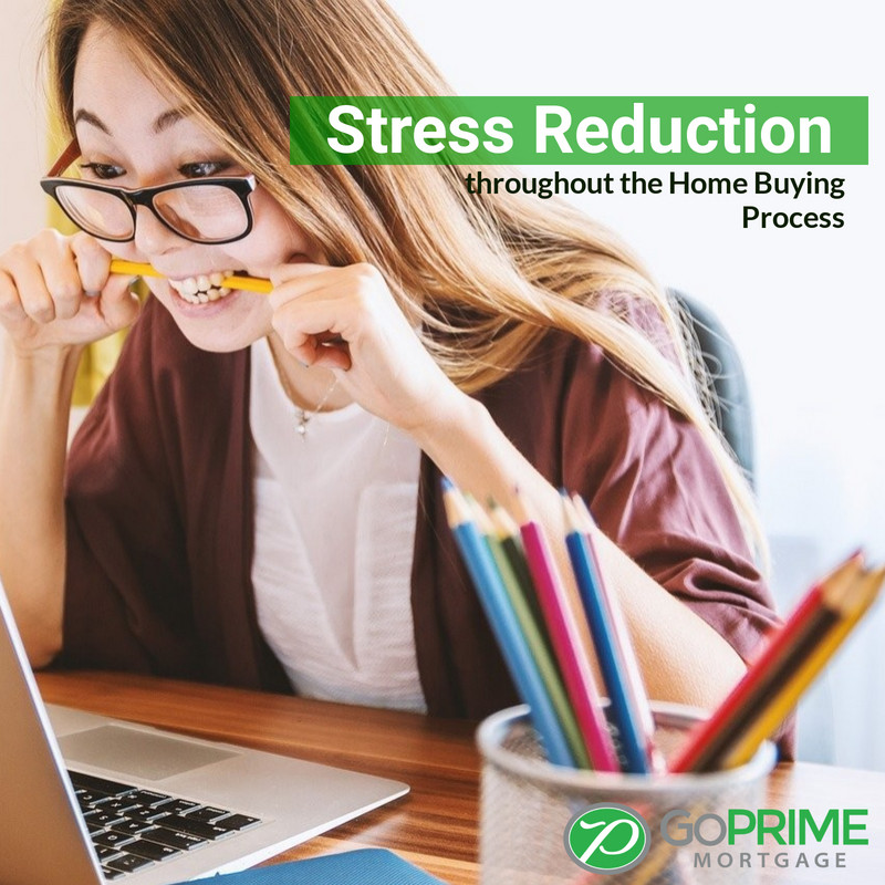 Stress Reduction throughout the Home Buying Process