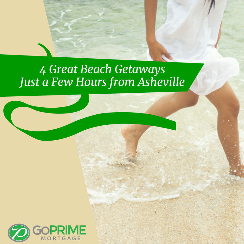 4 Great Beach Getaways Just a Few Hours from Asheville