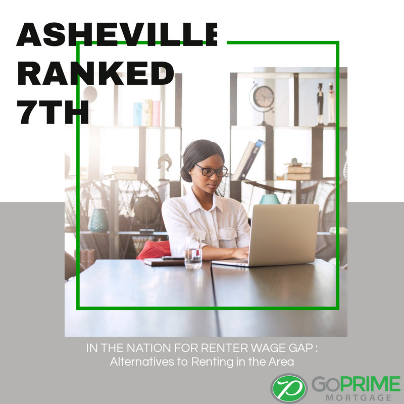 Asheville Ranked 7th in the Nation for Renter Wage Gap
